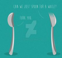 Well, Fork You by coolstergraphics