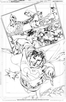 SUPERMAN 710, PAGE 20 by eddybarrows