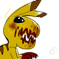 The most adorable Pikachu ever made ever by ATHJChester