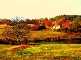 landscape by teireira