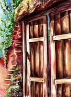 Old Door by Mira-Jade