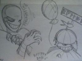 The Gift's a Balloon. Enjoy It. by CERBERUS253