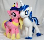 Cadance and Shining Armor by Cryptic-Enigma