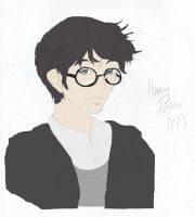Harry Potter Colored by Brangienne