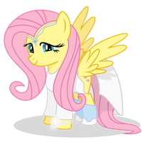 If Fluttershy Were Galadriel by shadowdark3