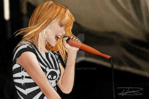 Hayley Williams by reapergt