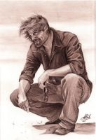 Josh Holloway by ArtisAllan