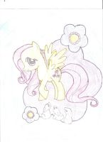 Fluttershy by andreabepic