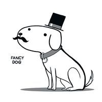 Fancy Dog by arseniic