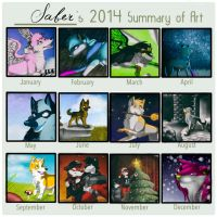 2014 Summary Of Art by Flame-Expression