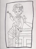 11th doctor sketch by MusicalNotes334