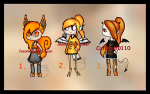 Feeling Orange DTA [CLOSED] by Adopt-From-Frog