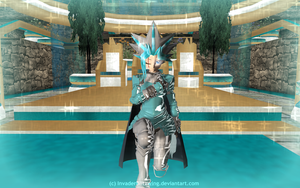 MMD - Yu-Gi-Oh - Knight in Shining Armor - Timaeus by InvaderBlitzwing