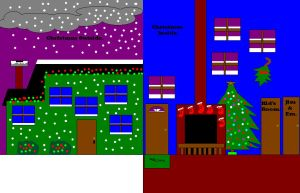 Christmas outside and inside picture 2. by SlimJim9274