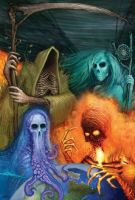 4 Elements of the Apocalypse by dislodge