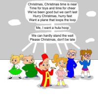 What's Xmas without the Chipmunks? by Trey-Vore