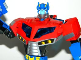 Toy Family - Optimus Prime 2 by LinearRanger