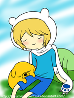 Finn and Jake c: by SourBears
