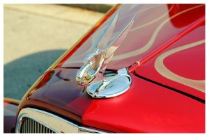 Chevy Street Rod Hood Ornament by TheMan268