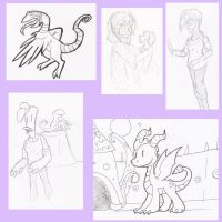Doodle Page by Wyndon-Torque