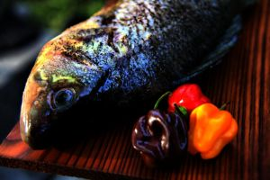 hot fish by Stratege