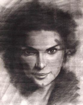 Woman Study by pcolinhill