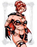 Savage Land Black Queen by gb2k