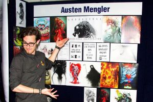 Supanova 2013 - My booth! by AustenMengler