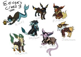 Eevees Creed 3 by xEvilxPenguinxNinjax