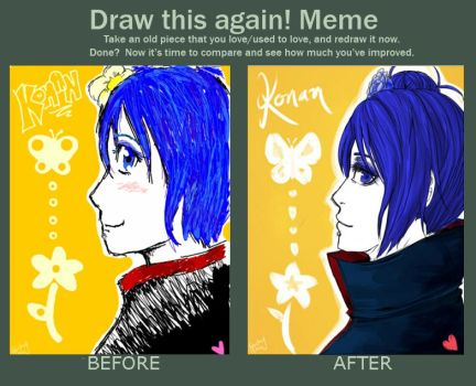Before and After! by inazumaookami