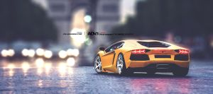 Lamborghini Aventador on ADV6 TS by Danyutz