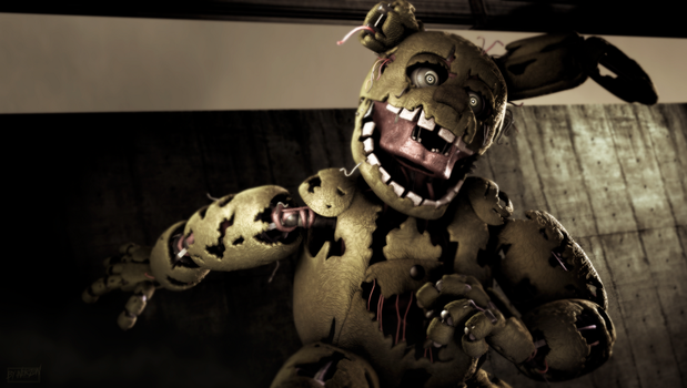 [SFM/FNAF3] Just run. by NikzonKrauser