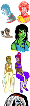 Whoopee ocs by RandomTacoLuver