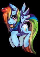 Rainbow Badge by Tartii