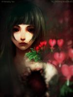 Bleeding Heart by yuumei