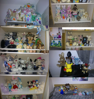 all my plush collection by Juliusrabbito