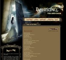 Evanescence LJ Layout by Ravenfire