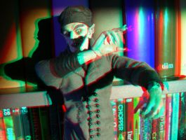 Nosferatu 3D Anaglyph by yellowishhaze
