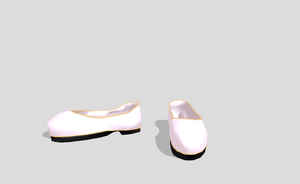 MMD China Nurse shoes by amiamy111
