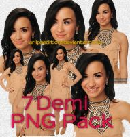 Demi Lovato PNG Pack by AriiPsEditions