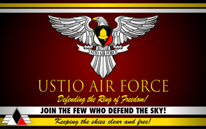 Ustio Air Force Wallpaper by ZFShadowSOLDIER