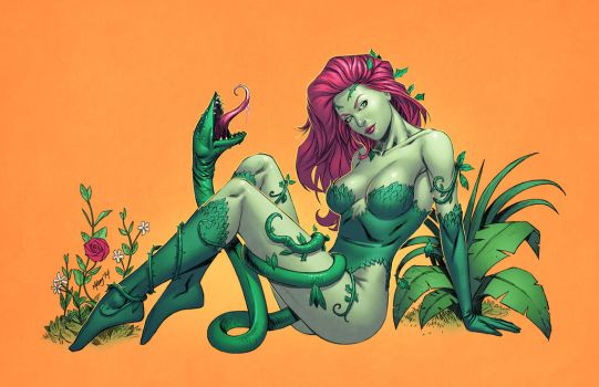 Poison Ivy by spidermanfan2099