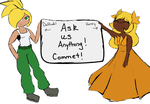 Ask us anything! -OPEN- by Apricotthevixen
