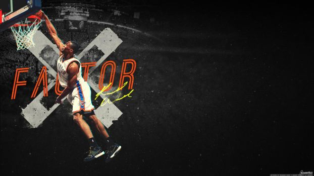 Russell Westbrook - xFactor Wallpaper by OwenB23