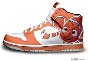 Nemo Nike Dunks by cmeo