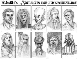 Meme - Guess the Villians by AlbinoNial