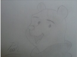 Pooh Bear by Lionfeather3