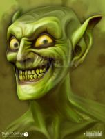 THE GREEN GOBLIN by ipawluk