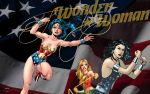 Wonder Woman Family by Xionice