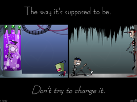 Don't Try To Change It. by GalaxyDancer
